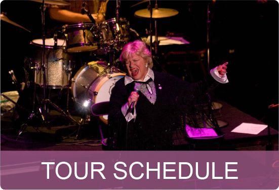 Carroll Baker Tour Schedule